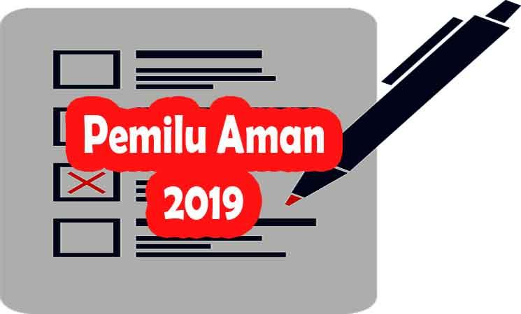 Pemilu Aman di 2019 Tergantung Masyarakat yang Damai