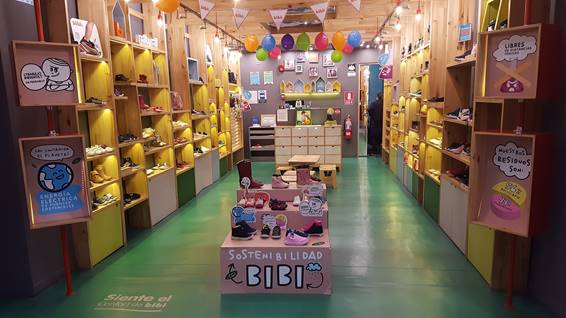 Calçados Bibi abre primeira loja na Bolívia