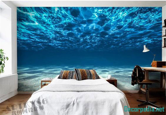 New 3D wallpaper murals and designs for bedroom 2019