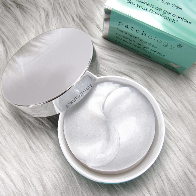 patchology flashpatch eye hydrogels - the beauty puff