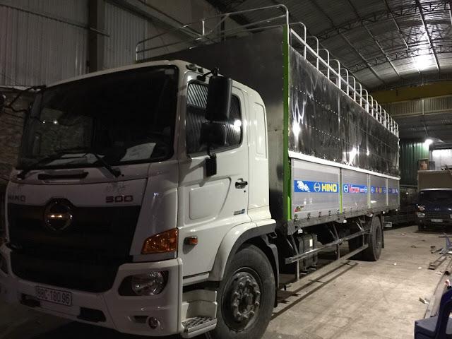 Đóng thùng, sửa chữa thùng xe tải uy tín