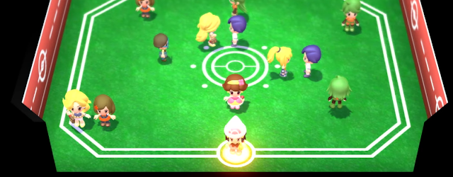Pokémon Brilliant Diamond Shining Pearl remakes chibi human designs overworld link room