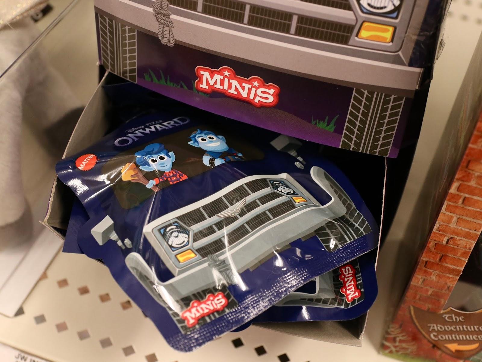 Pixar onward toys mini figures mattel