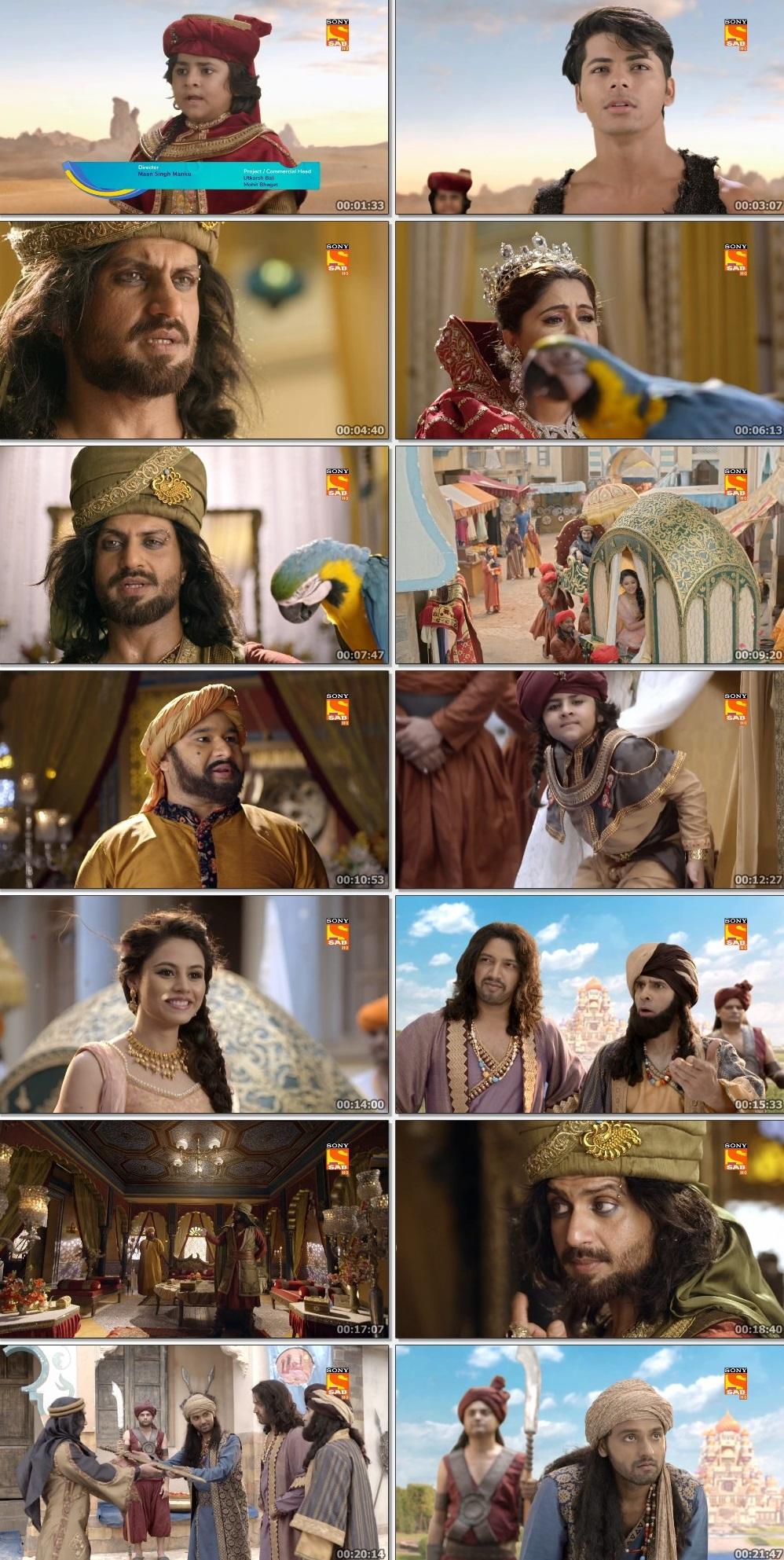 Screenshots Of Hindi Show Aladdin – Naam Toh Suna Hoga 2019 Episode 218 300MB 720P HD