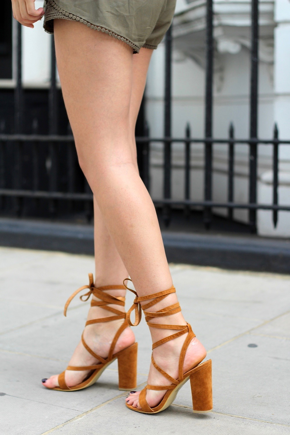 why you need lace up heels this summer