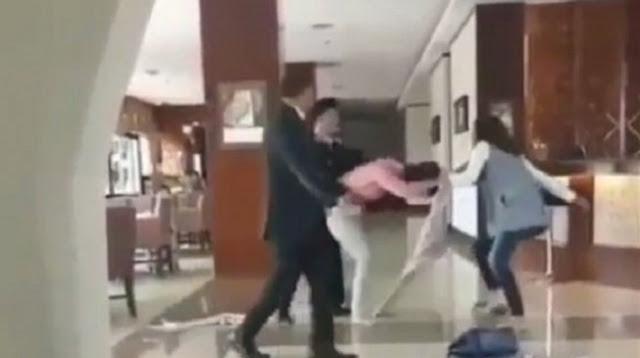 CEK FAKTA: Viral Video Istri Eks Dirut Garuda Labrak Selingkuhan, Benarkah?