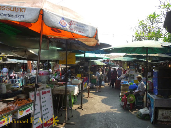 Street Shops near Grand Palace, Bangkok