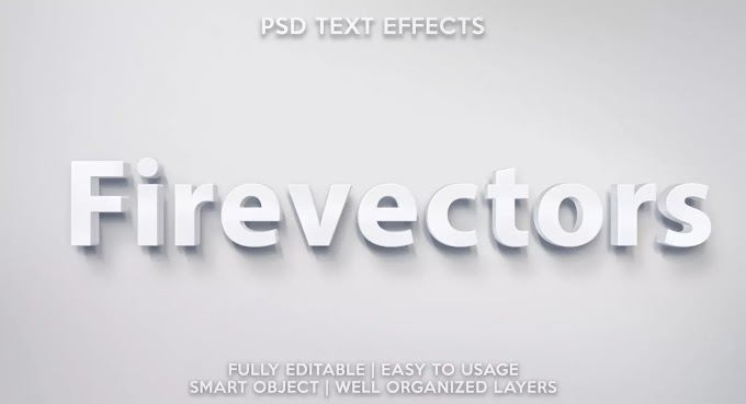 Angels Text Effect PSD