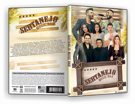 DVD – Sertanejo Music Bar 2019 – AUTORADO