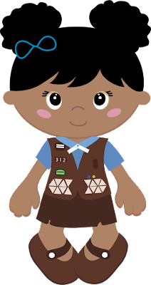 Girl Scout Daisy to Brownie Bridging Ceremony