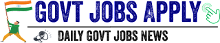 Govt jobs Apply