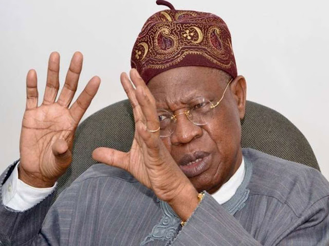 President Buhari did not visit Kankara, but organised the operation to insure the safe return of the abducted schoolboys-Lai Mohammed