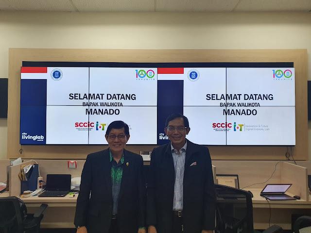 Pengembangan dan Implementasi Manado Smart City , Pemkot Manado bekerjasama dengan ITB lewat penandatangan MoU