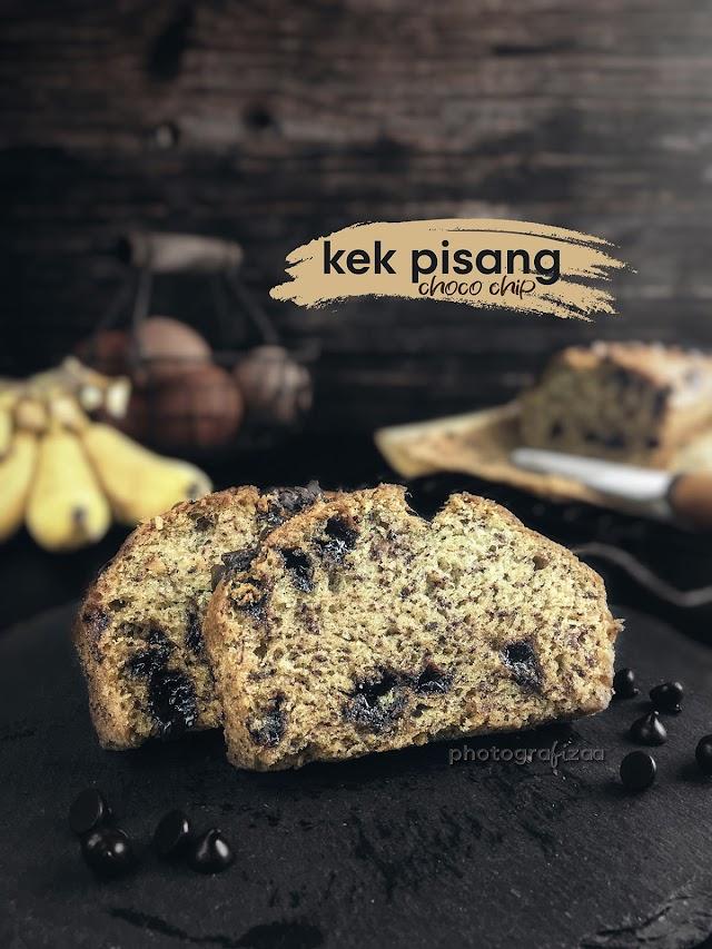Kek Pisang Choco Chip