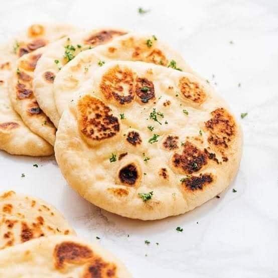 خبز النان الهندى مينى
