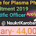 Scientific Officer Assistant Vacancy(Centre for Plasma Physics)- 44,000/- Salary, Recruitment 2019