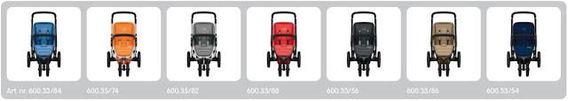 Koelstra Latinique kinderwagen