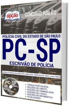 Apostila PC-SP 2018 Escrivão de Polícia