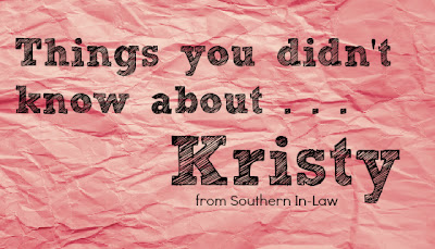 Things You Didn't Know About Kristy