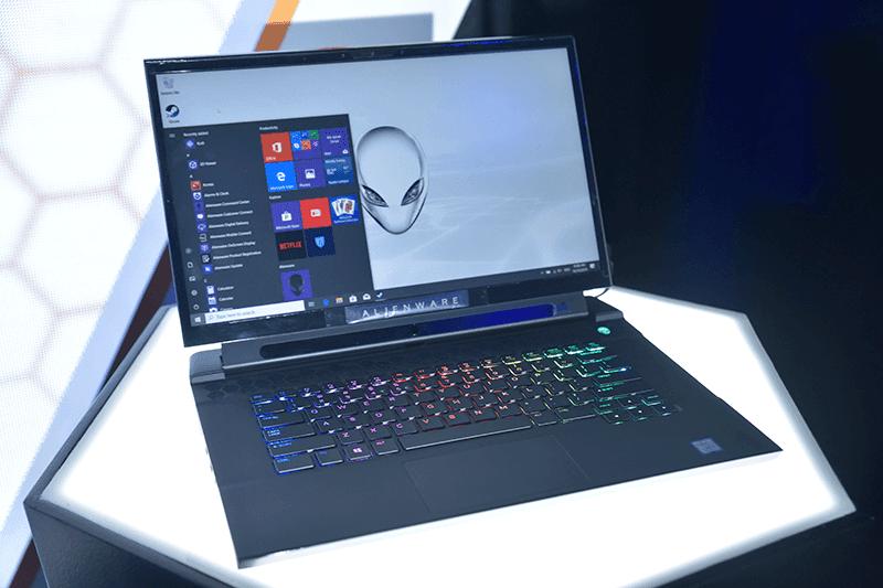 Alienware m15 laptop