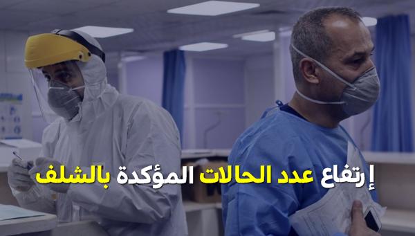 إرتفاع عدد الإصابات المؤكدة لـ 63 حالة بالشلف