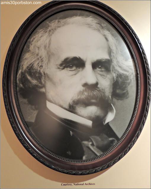 Museo Concord: Retrato de Nathaniel Hawthorne