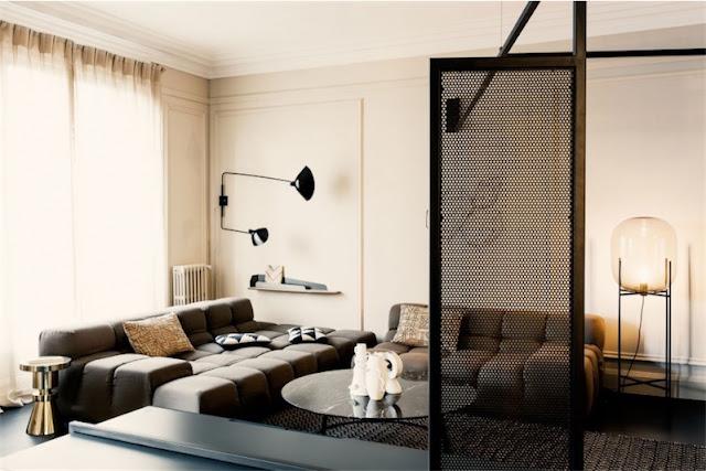 apartamento contemporaneo en París chicanddeco