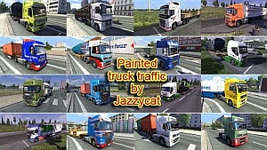 Jazzycat - Painted Truck Traffic