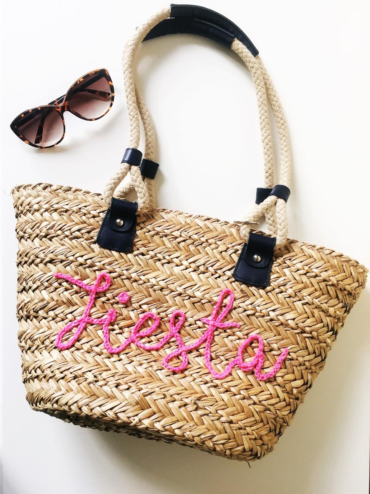 Annaboo S House Diy Slogan Straw Bag