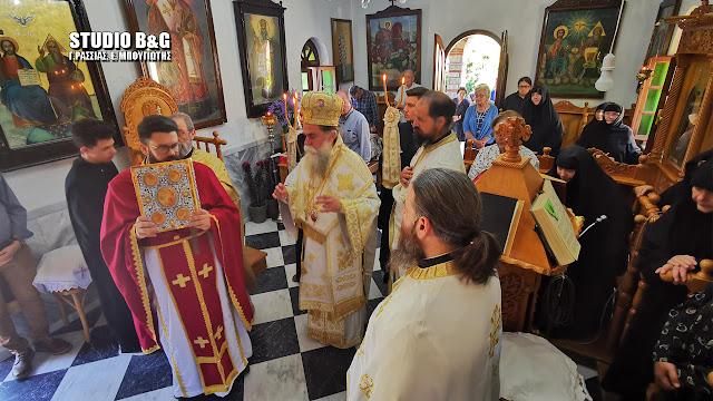 Αρχιερατική Θεία Λειτουργία για τα 1.100 χρόνια της συνάντησης των Αγίων της Αργολίδας Πέτρου και Θεοδοσίου
