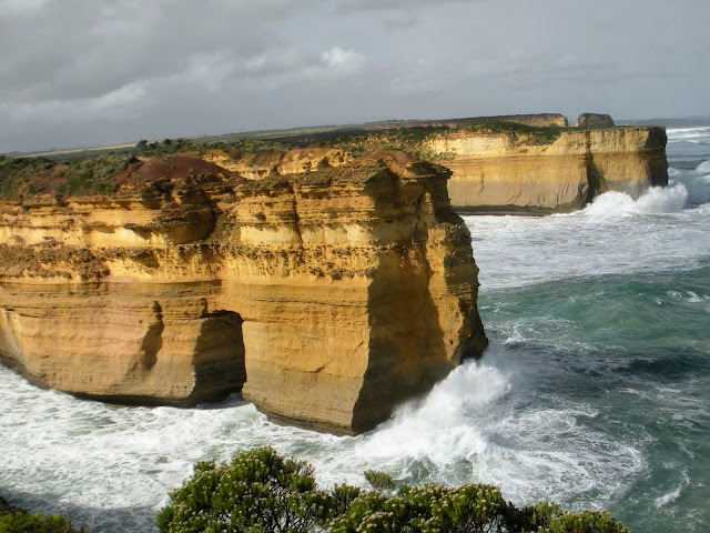 The Great Ocean Road drive between Adelaide and Melbourne Australia