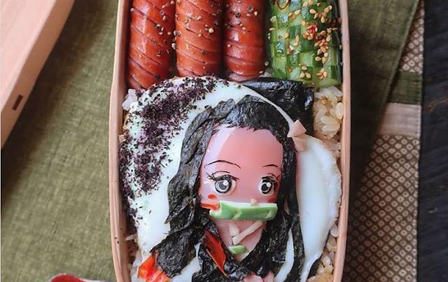 Ibu asal Jepang Ini Membuat Karya Seni Epik hanya dengan Telor Ceplok!
