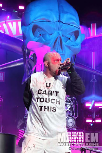 U Can't Touch This shirt worn by Ivan Moody 5FDP.  PYGear.com