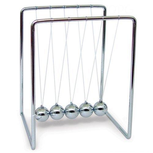 5 25 Metal Balancing Newton S Cradle Desk Toy Gadget