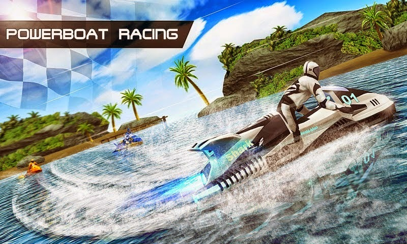 Download Game PowerBoat Racing 3D for Android via Google Play Store