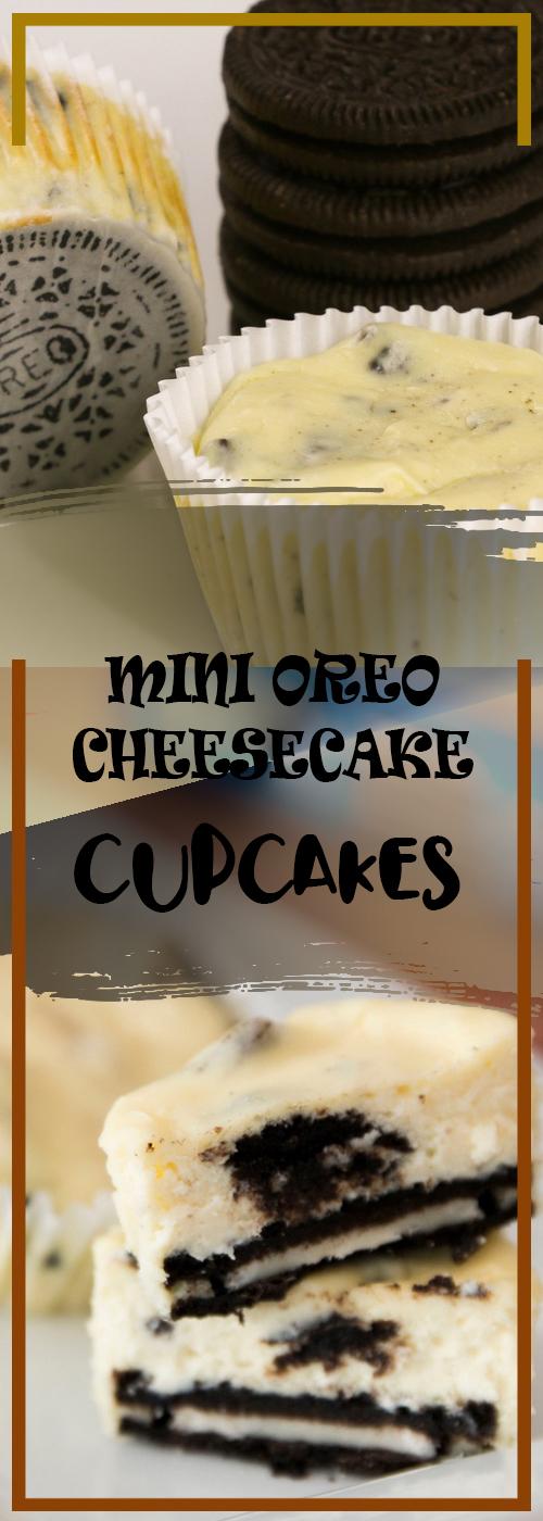 MINI OREO CHEESECAKE CUPCAKES RECIPE