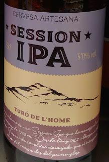 Turo de l'Home Sessions IPA beer