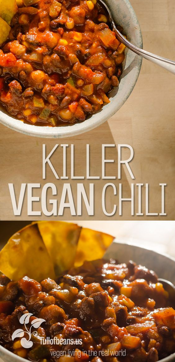 Vegan Chili That Everyone Will Rave About!