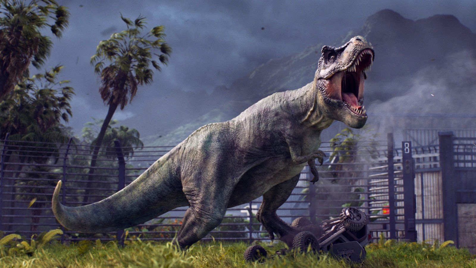 Review Jurassic World Evolution Pretty Dinos Are Shallow Good
