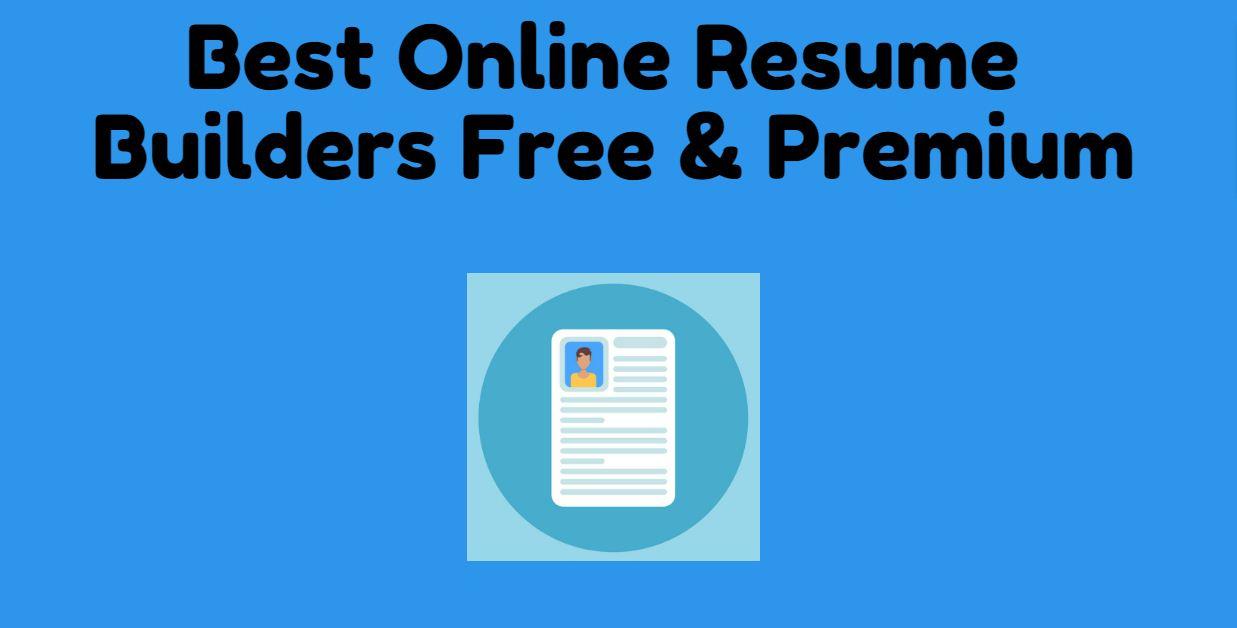 Best Online Resume Builders Free  Premium - GetWebInfo Latest