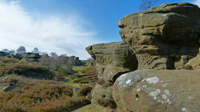 Brimham Rocks, Yorkshire.