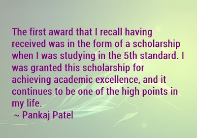Academic Excellence Award Quotes