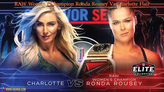 RAW Women's Champion Ronda Rousey Vs Charlotte Flair - منصة تجربة