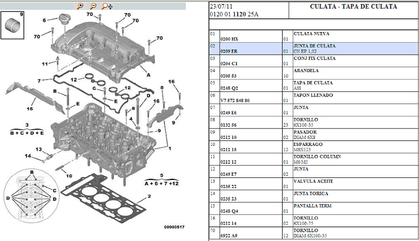 CITROEN C4 PICASSO MANUAL DIESEL 5 9  Auto Electrical Wiring Diagram