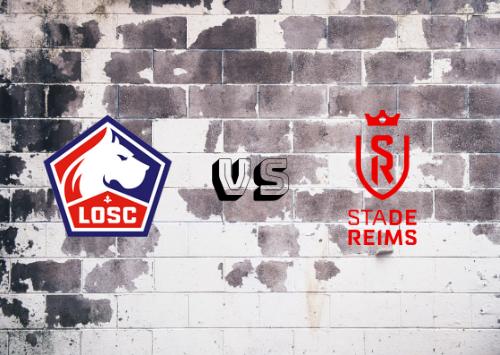 Lille vs Reims  Resumen
