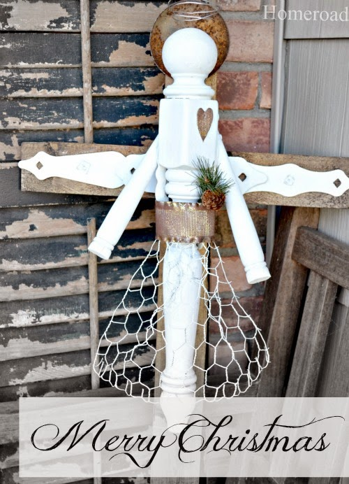 How to Make a DIY Angel From broken furniture. Homeroad.net