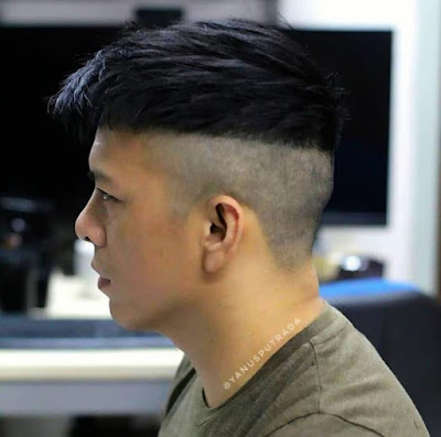 Model Rambut Pria Gemuk 2020