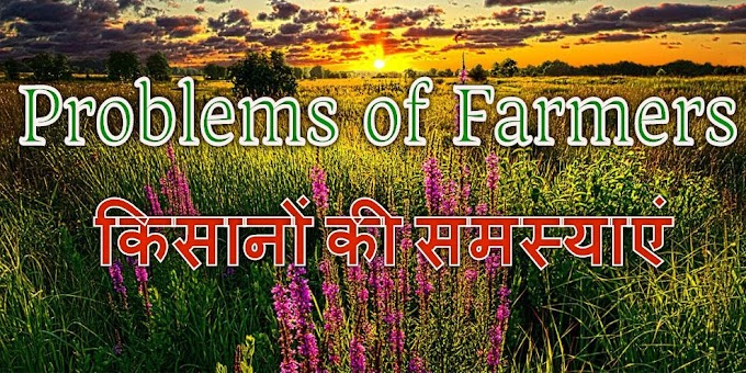 भारतीय किसानों की समस्याएं (Problems of Indian Farmers)