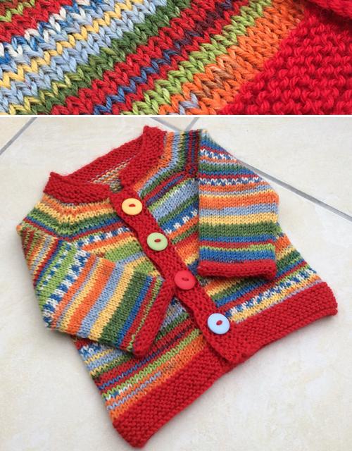 Amazing Knitting Fuss Free Baby Cardigan Free Pattern
