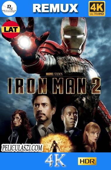 Iron Man 2 (2010)  Ultra HD REMUX 4K HDR Dual-Latino VIP